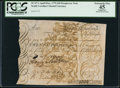 Colonial Notes:South Carolina, South Carolina 97.1 £20 April-May 1775 Promissory Note PCGSApparent Extremely Fine 45.. ...