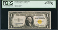 Small Size:World War II Emergency Notes, Fr. 2306* $1 1935A North Africa Silver Certificate. PCGS Gem New65PPQ.. ...