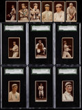 Baseball Cards:Lots, 1912 T207 Recruit Tobacco Baseball Card Collection (12Different)....