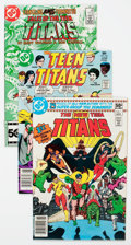 Modern Age (1980-Present):Superhero, Teen Titans-Related Group of 24 (DC, 1980s) Condition: AverageVF/NM.... (Total: 24 Comic Books)