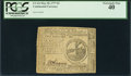 Colonial Notes:Continental Congress Issues, Continental Currency May 20, 1777 $2 PCGS Extremely Fine 40.. ...