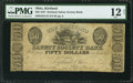 Obsoletes By State:Ohio, Kirtland, OH- Kirtland Safety Society Bank $50 ca. 1837 OH-245G16.. ...