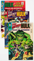 Silver Age (1956-1969):Superhero, Tales to Astonish Group of 10 (Marvel, 1966-68) Condition: Average VF.... (Total: 10 Box Lots)