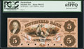 Obsoletes By State:Massachusetts, Pittsfield, MA- Pittsfield Bank $5 June 1, 1857 G12 Proof. ...