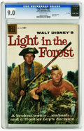 Silver Age (1956-1969):Adventure, Four Color #891 Light in the Forest -- File Copy (Dell, 1958) CGC VF/NM 9.0 Off-white to white pages. Fess Parker photo cove...