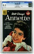 Silver Age (1956-1969):Humor, Four Color #905 Annette - File Copy (Dell, 1958) CGC VF+ 8.5 Off-white pages. Annette Funicello photo cover. Overstreet 2005...