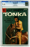 Silver Age (1956-1969):Western, Four Color #966 Tonka - File Copy (Dell, 1959) CGC NM 9.4 Off-whitepages. Sal Mineo photo cover. Overstreet 2005 NM- 9.2 va...