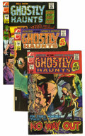 Bronze Age (1970-1979):Horror, Ghostly Haunts Group (Charlton, 1972-76) Condition: Average VF/NM.Features #28, 29, 30, 32 (new logo), 37, 38, 39 (origin a...(Total: 15)