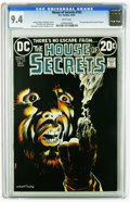 Bronze Age (1970-1979):Horror, House of Secrets #103 (DC, 1973) CGC NM 9.4 White pages. BernieWrightson cover. One-page gag strip by Sergio Aragones. Rico...