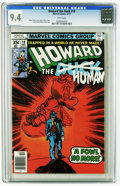 Bronze Age (1970-1979):Cartoon Character, Howard the Duck #19 (Marvel, 1977) CGC NM 9.4 White pages. GeneColan cover. Colan and Klaus Janson art. Overstreet 2005 NM-...