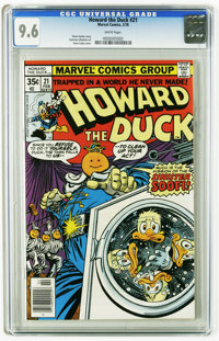 Howard the Duck #21 (Marvel, 1978) CGC NM+ 9.6 White pages. Gene Colan cover. Carmine Infantino art. This is currently t...