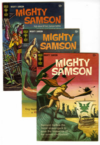 Mighty Samson Box Lot (Gold Key, 1965-80) Condition: Average VF/NM. This short box lot includes #4 (17 copies), 5 (nine...
