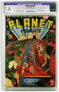 Golden Age (1938-1955):Science Fiction, Planet Comics #1 (Fiction House, 1940) CGC Apparent GD- 1.8 Slight(A) Cream to off-white pages. Origin of Auro, Lord of Jup...