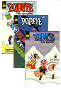 Bronze Age (1970-1979):Cartoon Character, Popeye File Copies Box Lot (Gold Key and Whitman, 1963-81) Condition: VF. This full short box contains Western Publishing Fi...