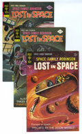 Silver Age (1956-1969):Science Fiction, Space Family Robinson File Copies Box Lot (Gold Key, 1967-77) Condition: Average VF. This short box includes approximately 1...