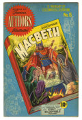 Golden Age (1938-1955):Classics Illustrated, Stories by Famous Authors Illustrated #6 Macbeth (Seaboard Pub.,1950) Condition: VG/FN. Henry Kiefer cover and art. Used in...