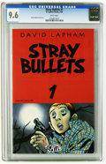 Modern Age (1980-Present):Alternative/Underground, Stray Bullets #1 (El Capitan, 1995) CGC NM+ 9.6 White pages. David Lapham story, cover, and art. This is currently the highe...
