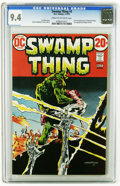 Bronze Age (1970-1979):Horror, Swamp Thing #3 (DC, 1973) CGC NM 9.4 Cream to off-white pages.First full appearance of Patchwork Man and first appearance o...