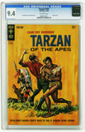Silver Age (1956-1969):Adventure, Tarzan of the Apes #147 (Gold Key, 1964) CGC NM 9.4 Off-white to white pages. Painted cover. Jesse Marsh and Russ Manning ar...