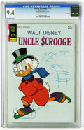 Bronze Age (1970-1979):Cartoon Character, Uncle Scrooge #111 File Copy (Gold Key, 1974) CGC NM 9.4 Off-whitepages. Overstreet 2005 NM- 9.2 value = $40. CGC census 1/...