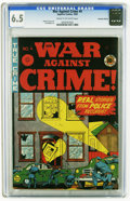 Golden Age (1938-1955):Crime, War Against Crime #4 Canadian Edition (Superior, 1949) CGC FN+ 6.5 Cream to off-white pages. Johnny Craig cover. Al Feldstei...