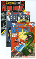 Bronze Age (1970-1979):Miscellaneous, Weird Worlds Group (DC, 1972-74) Condition: Average NM-. Includes#2, 3, 5, 7 (last John Carter of Mars feature in title), 8...(Total: 6)