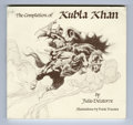 Books, The Completion of Kubla Khan (Nova Classics, 1997). Frank Frazettaillustrations grace this paperback.The book has one bent ...