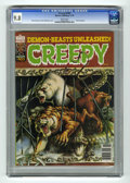 Bronze Age (1970-1979):Horror, Creepy #103 (Warren, 1978) CGC NM/MT 9.8 White pages. 1978Yearbook. Walt Simonson and Kim McQuaite cover. Overstreet 2005N...