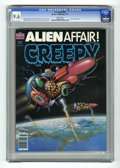 Magazines:Science-Fiction, Creepy #109 (Warren, 1979) CGC NM+ 9.6 White pages. Jim Laurier cover. Val Mayerik, Paul Neary, and Luis Bermejo art. Overst...