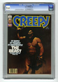 Magazines:Science-Fiction, Creepy #117 (Warren, 1980) CGC NM 9.4 Off-white to white pages. KenKelly cover. Carmine Infantino and Jeff Easley art. Over...