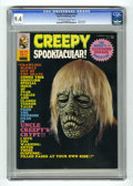 Magazines:Horror, Creepy Annual 1972 (Warren, 1972) CGC NM 9.4 Off-white to white pages. Photo cover. Overstreet 2005 NM- 9.2 value = $45. CGC...
