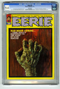 Magazines:Horror, Eerie #36 (Warren, 1971) CGC NM 9.4 White pages. Enrich Torres cover. Pablo Marcos frontispiece. Bruce Jones, Esteban Maroto...