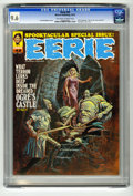 Magazines:Horror, Eerie #42 (Warren, 1972) CGC NM+ 9.6 Off-white to white pages. The 1972 Eerie Yearbook. Square bound. Neal Adams, Steve ...