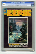 Magazines:Horror, Eerie #44 (Warren, 1972) CGC NM+ 9.6 Off-white to white pages. Luis Dominguez cover, bio, and photo. Art by Dominguez, Esteb...