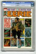 Magazines:Horror, Eerie #51 (Warren, 1973) CGC NM+ 9.6 White pages. 1973 Summer Special. Includes full-color centerfold poster. Manuel Sanjuli...