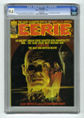 Magazines:Horror, Eerie #70 (Warren, 1975) CGC NM+ 9.6 White pages. Manuel Sanjulian cover. Esteban Maroto, Paul Neary, and Jose Ortiz art. Be...