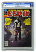 Modern Age (1980-Present):Horror, Eerie #112 (Warren, 1980) CGC NM+ 9.6 White pages. Featuring the1979 Warren Creator Awards. Ken Kelly cover. All Esteban Ma...