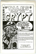 Original Comic Art:Miscellaneous, Tales From the Crypt Cover Portfolio (Russ Cochran, 1979). Here's a little package of goodies guaranteed to delight EC fans!...