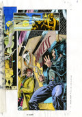 Original Comic Art:Miscellaneous, Wolverine #87 Color Guide Original Art, Group of 19 (Marvel, 1994).Here is a set of hand-painted color guides from Wolver... (Total:19 Items)