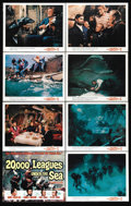 """Movie Posters:Science Fiction, 20,000 Leagues Under the Sea (Buena Vista, R-1971). Advance Lobby Card Set of 8 (11"""" X 14""""). Walt Disney emptied the toy box... (Total: 8 Items)"""