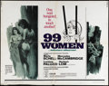 """Movie Posters:Bad Girl, 99 Women (Commonwealth United, 1968). Half Sheet (22"""" X 28""""). MariaSchell and Mercedes McCambridge star in this women in pr..."""