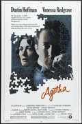 """Movie Posters:Mystery, Agatha (Warner Brothers, 1979). One Sheet (27"""" X 41""""). Dustin Hoffman, Vanessa Redgrave and Timothy Dalton star in this fict..."""