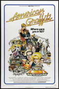 """Movie Posters:Comedy, American Graffiti (Universal, 1973). One Sheet (27"""" X 41""""). Talk about a Hollywood who's who! Richard Dreyfuss, Ron Howard, ..."""