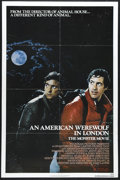 """Movie Posters:Horror, An American Werewolf in London (Universal, 1981). One Sheet (27"""" X 41""""). John Landis started work on the screenplay at age 1..."""