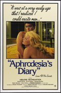 "Movie Posters:Bad Girl, Aphrodesia's Diary (Audubon Films, 1984). One Sheet (27"" X 41"").Vanessa del Rio and Ron Jeremy star in this X-rated raunchy..."