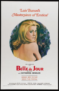 """Belle De Jour (Allied Artists, 1967). One Sheet (27"""" X 41""""). The collision between depravity and elegance, one..."""