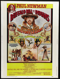"""Buffalo Bill and the Indians, or Sitting Bull's History Lesson (United Artists, 1976). Poster (30"""" X 40""""). Pau..."""