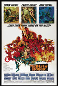 "Movie Posters:War, Dirty Dozen (MGM, 1967). One Sheet (27"" X 41""). Lee Marvin, ErnestBorgnine, Charles Bronson, Jim Brown, John Cassavetes, Ge..."