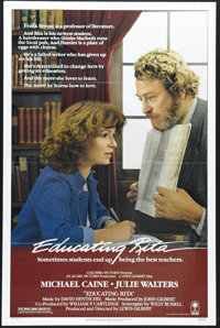 "Educating Rita (Columbia, 1983). One Sheet (27"" X 41""). Long before she was the powerful but harried witch (Mo..."