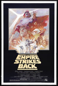 """Movie Posters:Science Fiction, The Empire Strikes Back (20th Century Fox, R-1981). One Sheet (27"""" X 41""""). The darkest of the original Star Wars films is co..."""